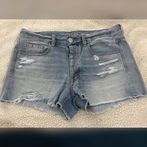 American Eagle Destroyed Boyfriend Jean Shorts